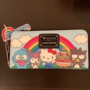 New Hello Sanrio Loungefly Wallet